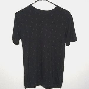 21men black & gold $ design top size XS